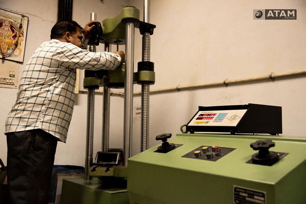 Material Testing (Tensile Testing UTM Machine)